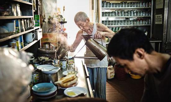 新加坡咖啡图片来源自The New York Times