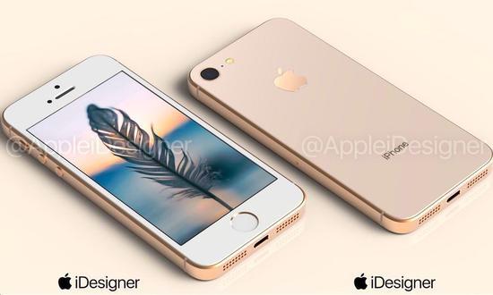 (新 iPhone SE 遐想图,图源:iDesigner)