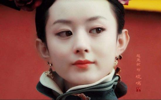 """赵丽颖""""女儿国""""中纯美 古装造型美出最新高度"""
