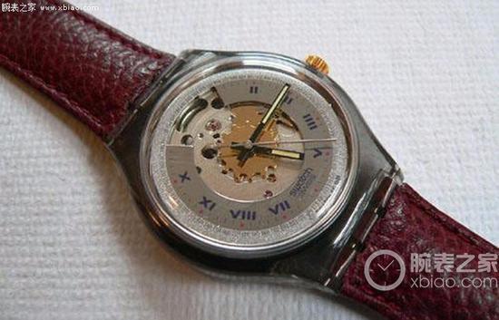 一枚早期Swatch Automatic自动机械表