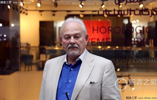 制表师Philippe Dufour在2016年迪拜钟表周