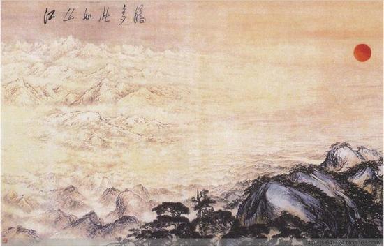 《江山如此多娇》——傅抱石