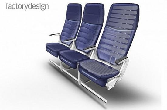 如果飞机座椅变成扭蛋 我们会不会睡得更舒服?