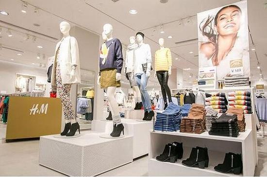 H&M门店 图片源自网络