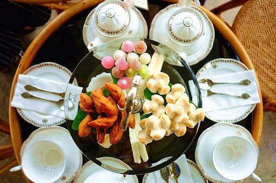 泰国本土特色的下午茶点