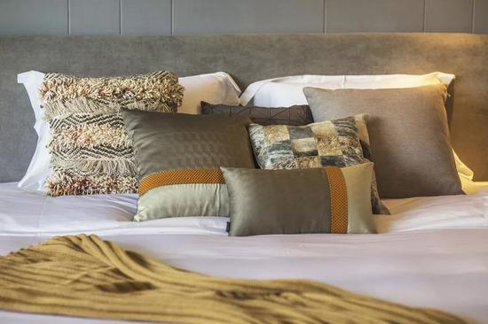 北欧风的床品与布草