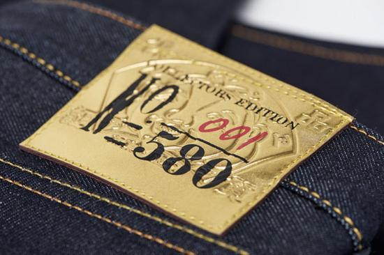evisu 2018新年限定 高端丹宁收藏家必备 狗年限量生肖牛仔裤