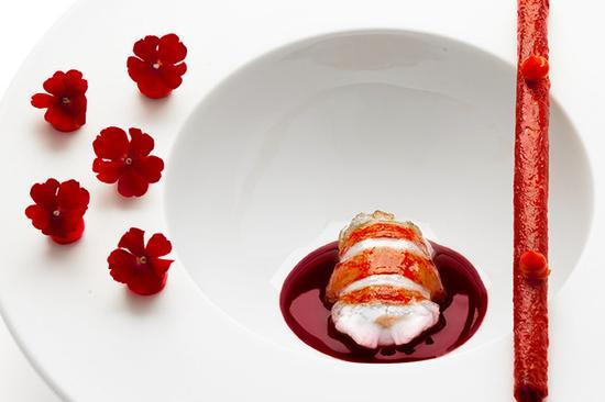 这家米其林三星餐厅为过敏者开发了18种菜单