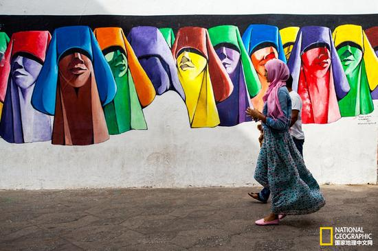 艾西拉小镇的壁画文化,是整个小镇的灵魂