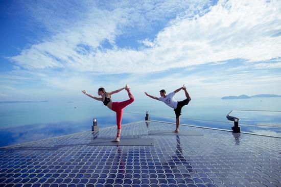 瑜伽课程 图片来源自品牌