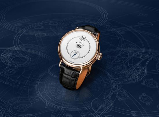 IWC万国表致敬波威柏(Pallweber)150周年特别版腕表,图片来源于IWC。