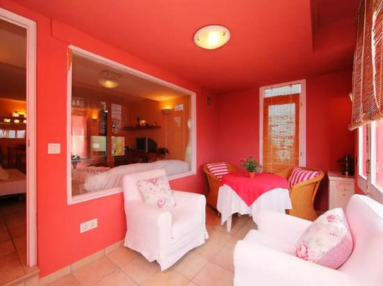 Muralla Roja 图片来源自airbnb