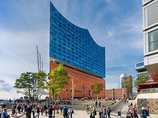 汉堡市的易北爱乐音乐厅 图片来源:foto-select/Shutterstock