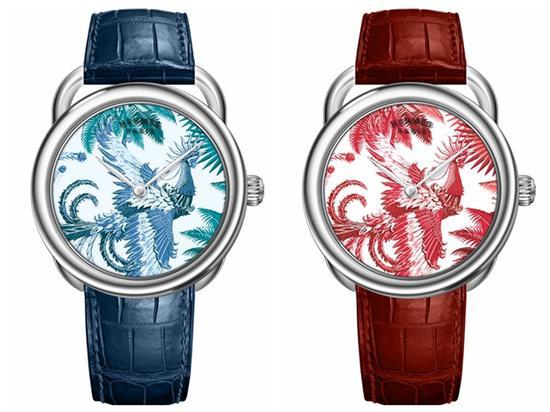 Arceau mythique phoenix腕表,图片来源于爱马仕。