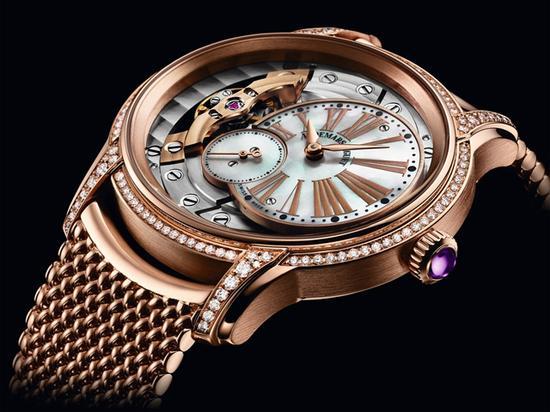 爱彼千禧系列女装腕表,图片来源于爱彼。