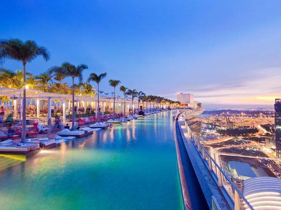 新加坡滨海湾金沙酒店 图片来源自Booking