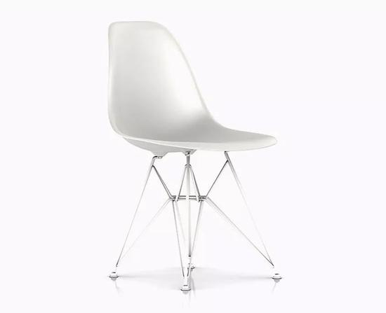 Side Chair伊姆斯椅,钢脚。
