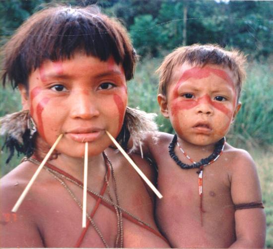 传统的雅诺马马人