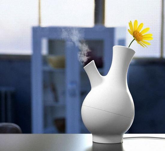 花瓶加湿器 图片来源自hardwaresphere.com