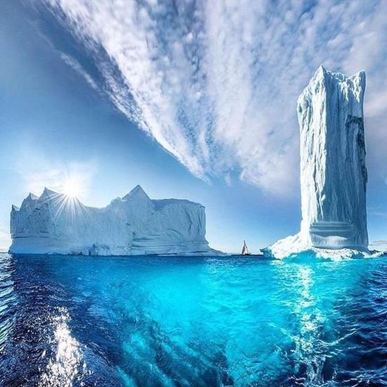 格陵兰岛 图片来源自instagram.com