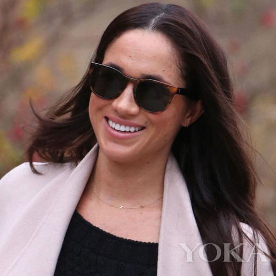 哈里王子未婚妻梅根·马克尔,图片来自Pinterest。