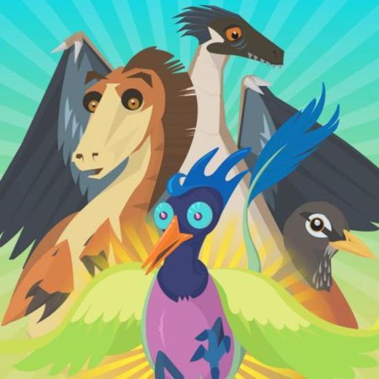 Flap to the Future 以横版飞行游戏展示了鸟类的翅膀进化的大致起源。