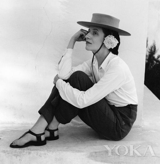 戴安娜·弗里兰品味独到,图片来自Diana Vreeland Legacy。