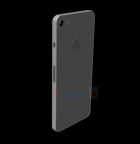 (印度媒体 Tekz24 曝光的新 iPhone SE 三维设计图,摄像头为水平横置)