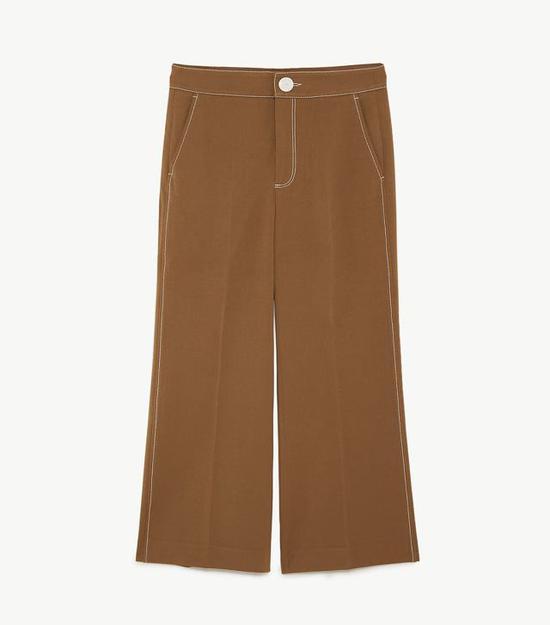 阔腿裤:Zara