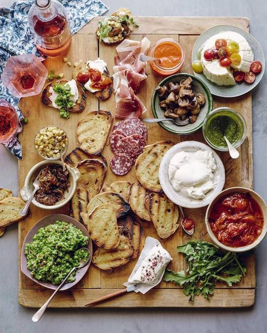 丰盛大餐 图片来源自。pinterest