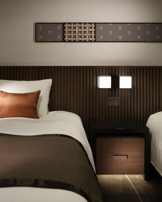 酒店客房设计 图片来源自Retail Design Blog