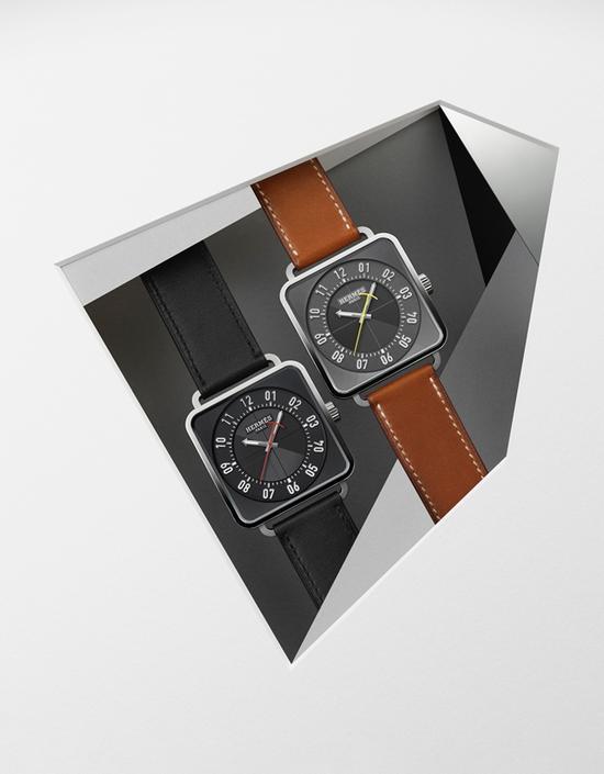 爱马仕Carré H腕表,图片来源于爱马仕。