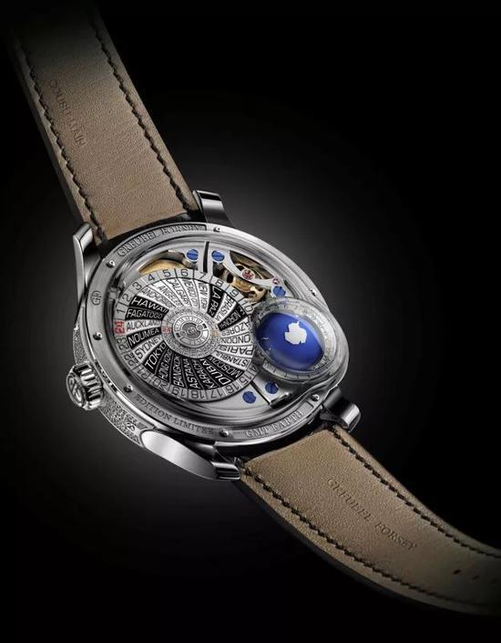 高珀富斯 GMT世界时间地球腕表