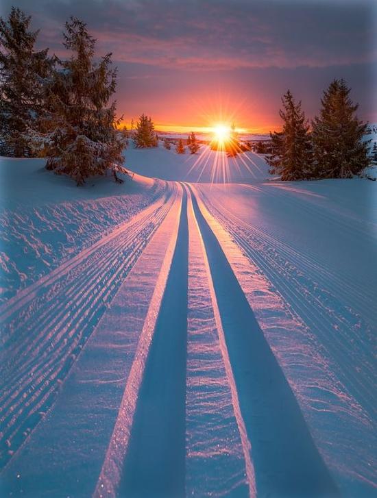 长白山滑雪胜地 图片来源自500px.com