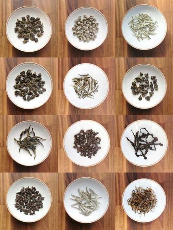 各类茶 图片来源自teapavse.com