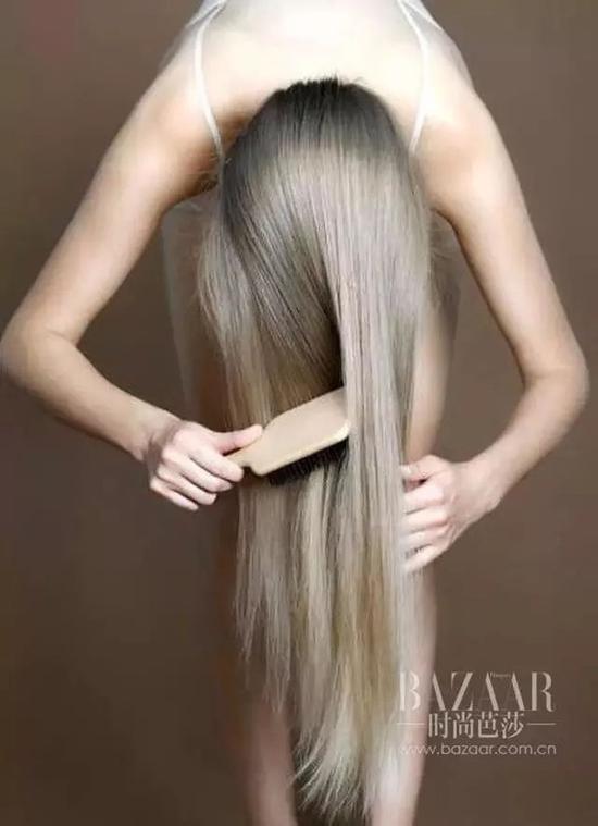 宽齿木梳顺发