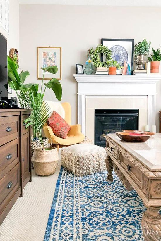 春季家居风格设计 图片来源自Global Eclectic Home & Lifestyle