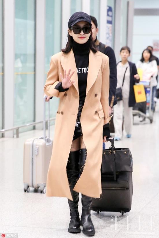 长版大衣到底该搭配哪款鞋履?云南电视台通联社区