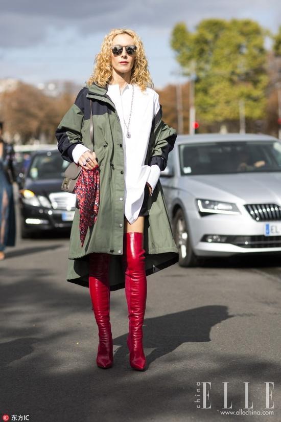 年末回家别忘了带双时髦chic的小红鞋