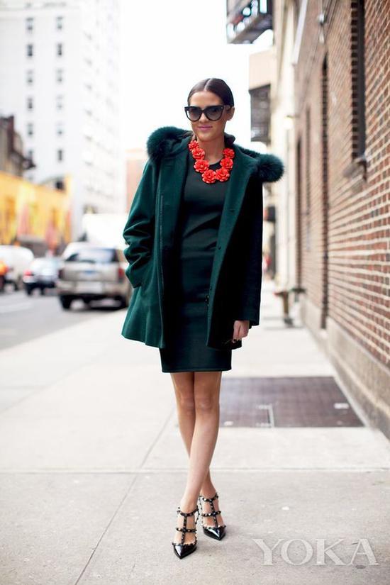 红配绿,图片来自Pinterest。