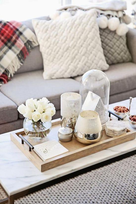 木质盘子 图片来源自Home Decor Ideas – HomeBNC