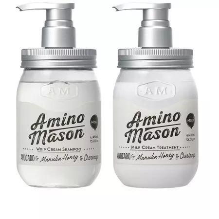 Amino Mason牛油果氨基酸无硅油洗&护