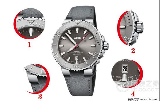 豪利时潜水系列01 733 7730 4153-075 24 11EB腕表