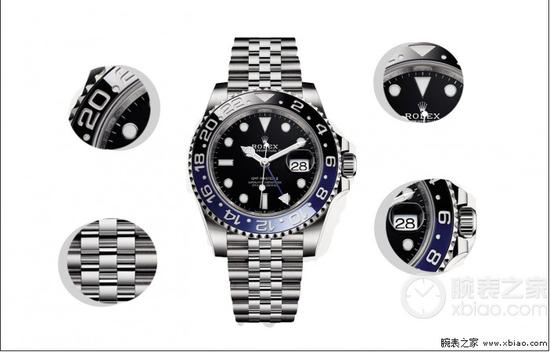 劳力士格林尼治型II系列m126710blnr-0002腕表