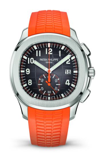 Aquanaut系列的第一枚计时腕表Ref. 5968A-001
