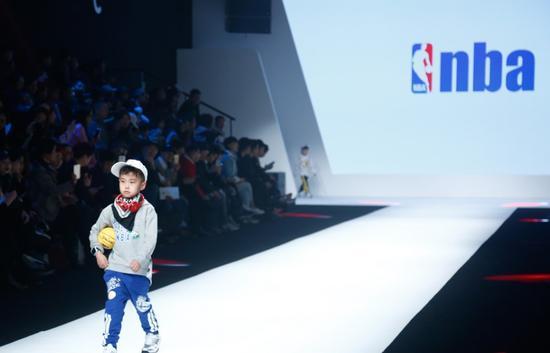 NBA儿童潮流服饰在中国隆重上市