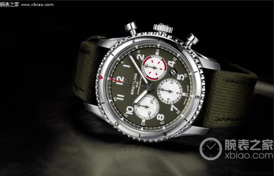 百年灵航空计时8系列AB01192A1L1X2腕表