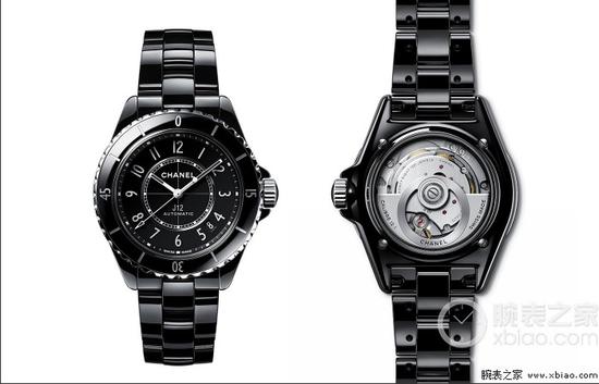 全新的香奈儿J12系列腕表