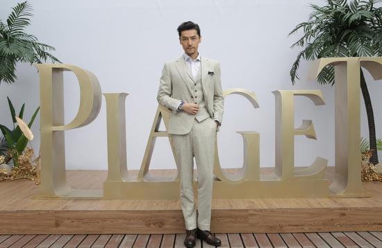 Piaget伯爵品牌大使胡歌出亮相Possession时来运转系列新品发布会