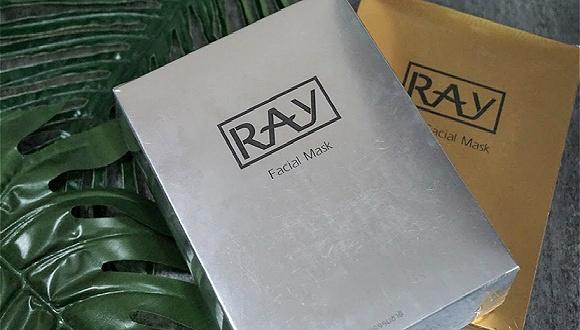 吓人!泰国网红面膜RAY最近被查出或含有禁用激素RAY泰国面膜网红面膜
